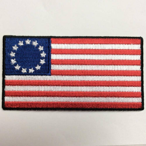 Betsy Ross - 2x3 inch - Iron On Patch