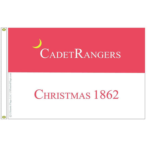 Cadet Rangers Flag Dacron Made In Usa