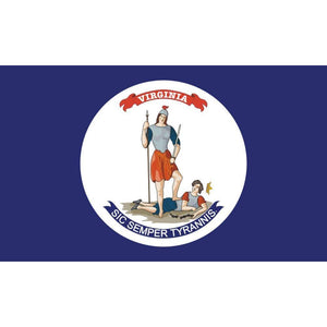 State of Virginia Flag  Civil War (1861-1865) - Made in USA