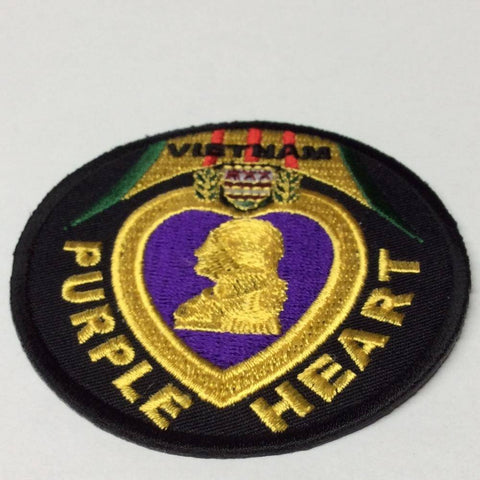 Vietnam Purple Heart Patch - 3 inches