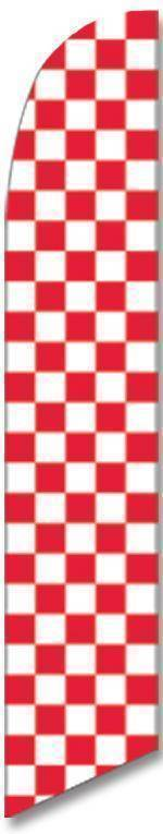 vendor-unknown Additional Flags Red and White Checkered Advertising Banner (banner only)