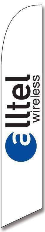 vendor-unknown Advertising Flags Alltel Wireless Advertising Banner (Complete set)