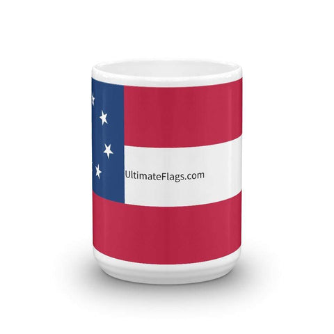 Ultimate Flags First Confederate 7 Stars and Bars Mug