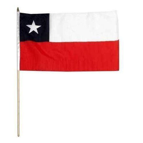 vendor-unknown Flag Chile 12 x 18 Inch Standard Printed Flag