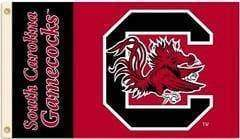 vendor-unknown Sports Items South Carolina College Team Flag 3 x 5 ft