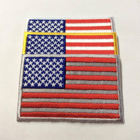 Image of US Flag Patch - 2x3 inch 50 Star American Flag