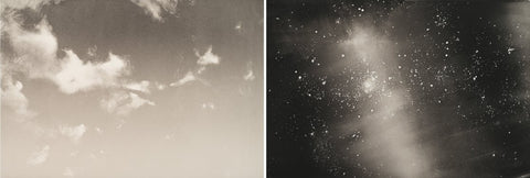 Wendy Orville's 'Day and Night Diptych.'