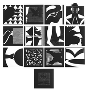 13 Ways of Looking at a Blackbird (Complete Set) by Michael Spafford - Davidson Galleries