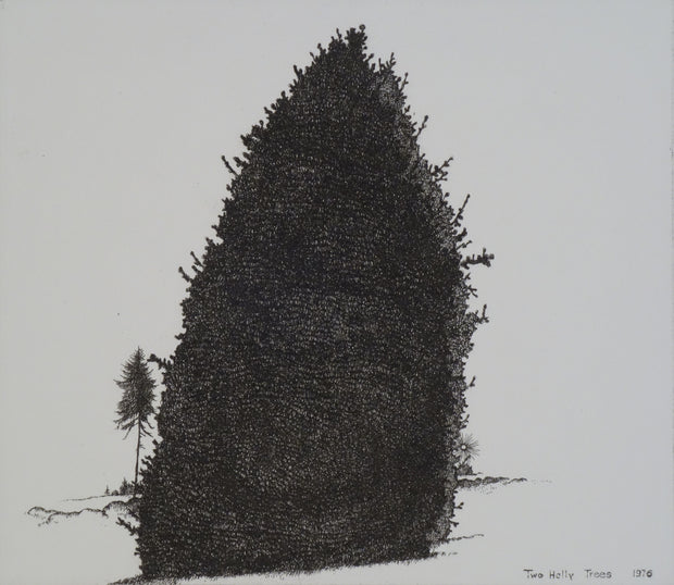Two Holly Trees by Art Hansen - Davidson Galleries