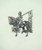 Sir Gawain and the Green Knight (Suite) by Artemio Rodriguez - Davidson Galleries