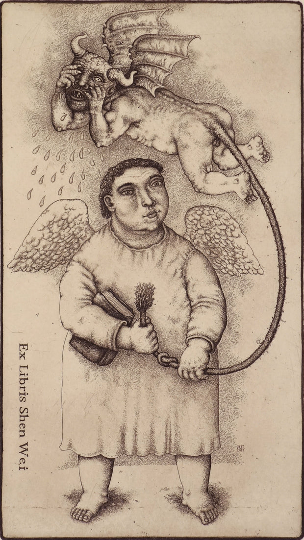 Angel With Devil by Oleksiy Fedorenko - Davidson Galleries