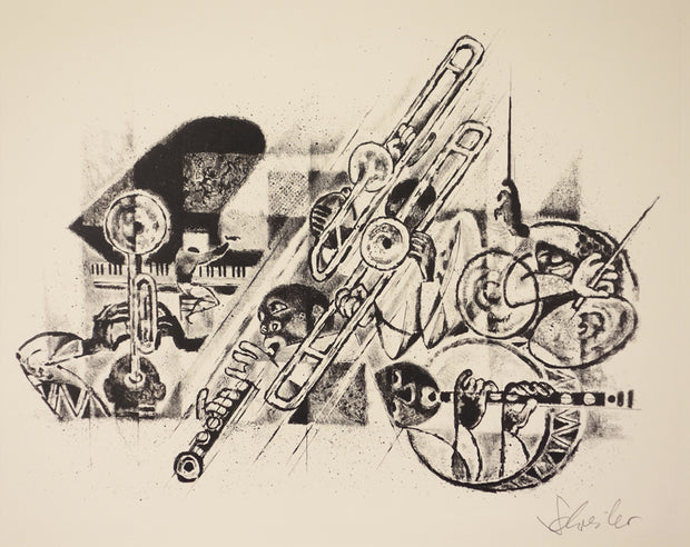 Jazz by Georges Schreiber - Davidson Galleries