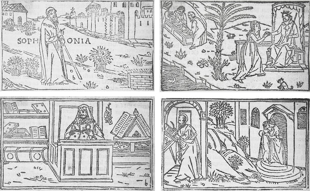 Four Scenes From The Bible by Unidentified Artist - Davidson Galleries