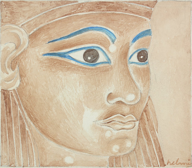 Egyptian Face by Helmi Dagmar Juvonen - Davidson Galleries