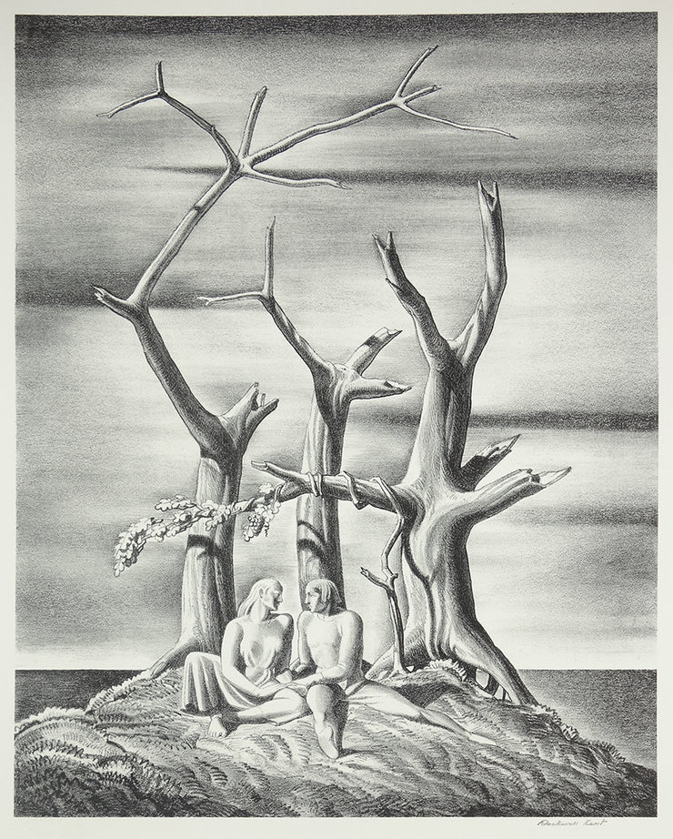 Beowolf: Genealogical Tree by Rockwell Kent - Davidson Galleries