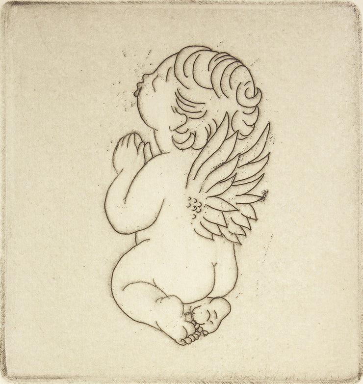 Angel Baby by Margaret Ann Gaug - Davidson Galleries