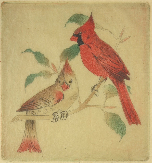 Cardinals by Margaret Ann Gaug - Davidson Galleries