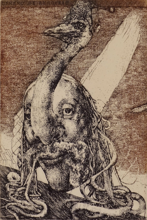 Cyrano (Ex Libris) by Dušan Kállay - Davidson Galleries