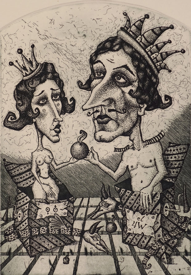 Primo Populo (Adam & Eve) by Kiril Skachkov - Davidson Galleries