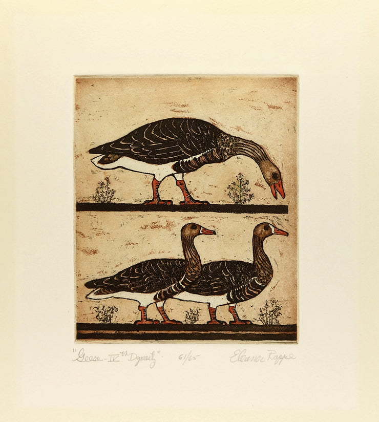 Geese IV Dynasty by Eleanor Rappe - Davidson Galleries