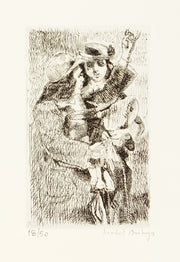 Isabel Bishop: Eight Etchings 1936-1959, Complete Portfolio by Isabel Bishop - Davidson Galleries