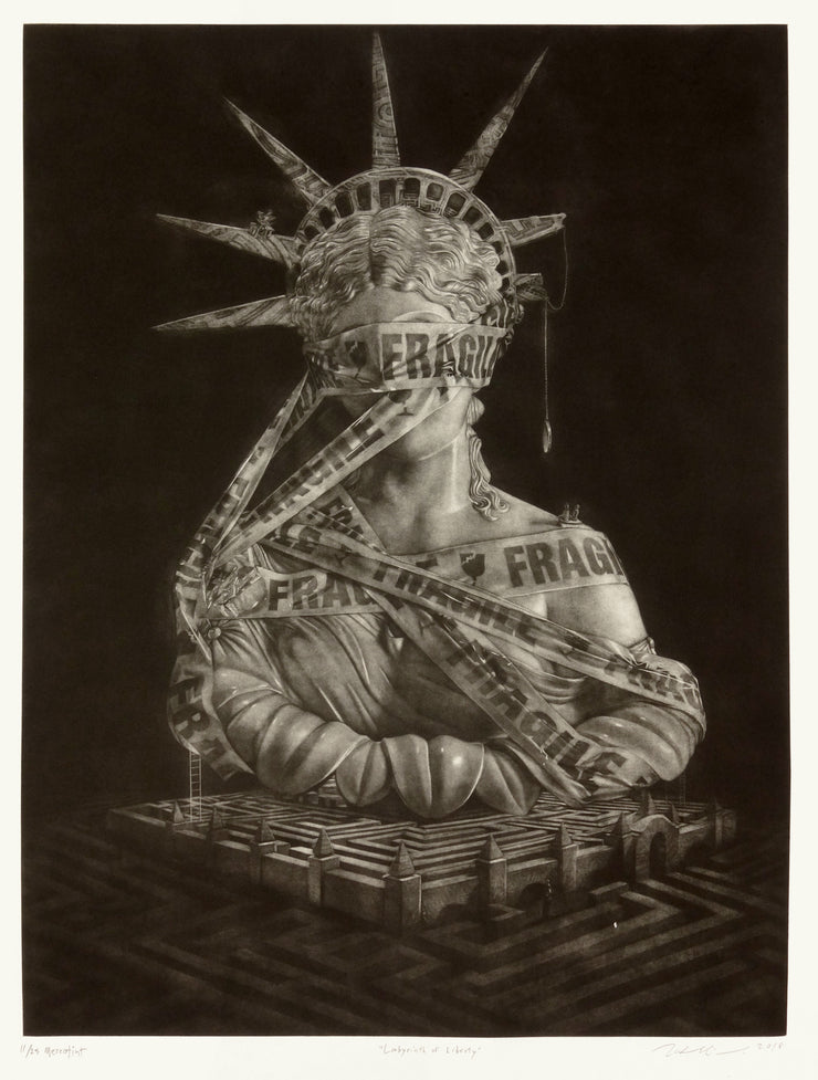 Labyrinth of Liberty by Wal Chirachaisakul - Davidson Galleries