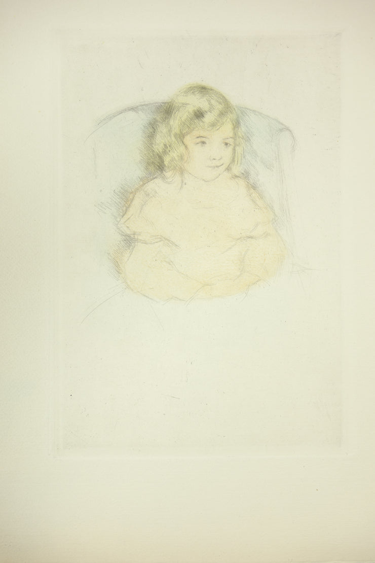 Sara Smiling by Mary Cassatt - Davidson Galleries