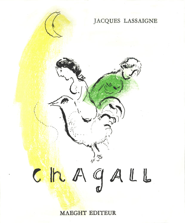 Le Coq Au Croissant by Marc Chagall - Davidson Galleries