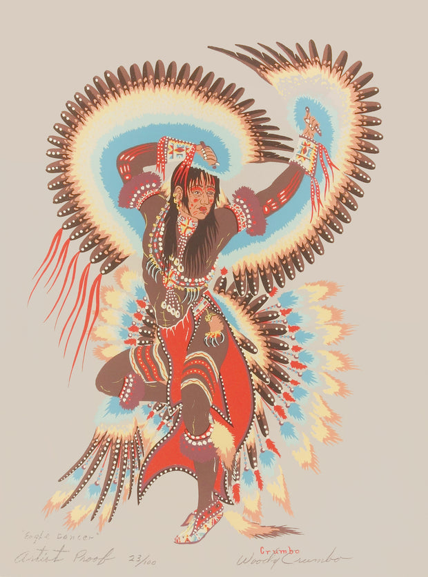 Eagle Dancer by Woody Crumbo - Davidson Galleries