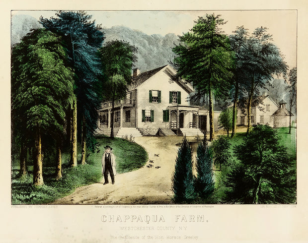 Chappaqua Farm by Currier & Ives - Davidson Galleries