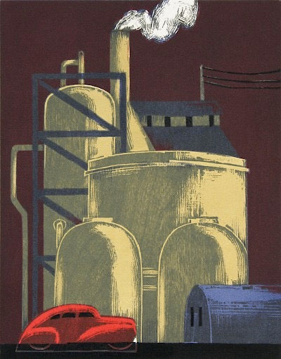 Refinery by Lockwood Dennis - Davidson Galleries
