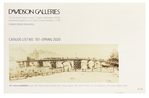 Spring Catalog 2020 by Davidson Galleries - Davidson Galleries