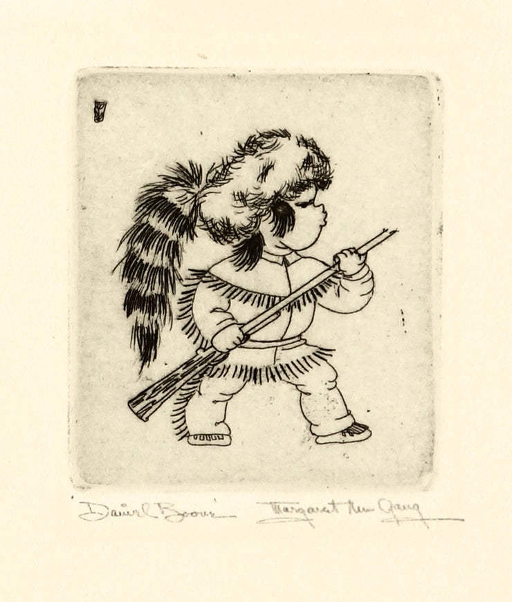 Daniel Boone by Margaret Ann Gaug - Davidson Galleries