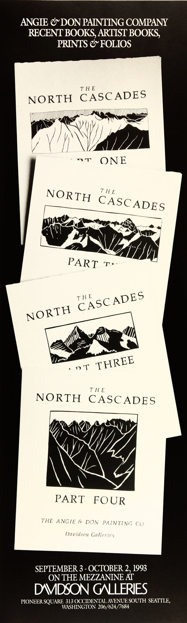 The North Cascades Portfolio Poster by Patrick Anderson - Davidson Galleries