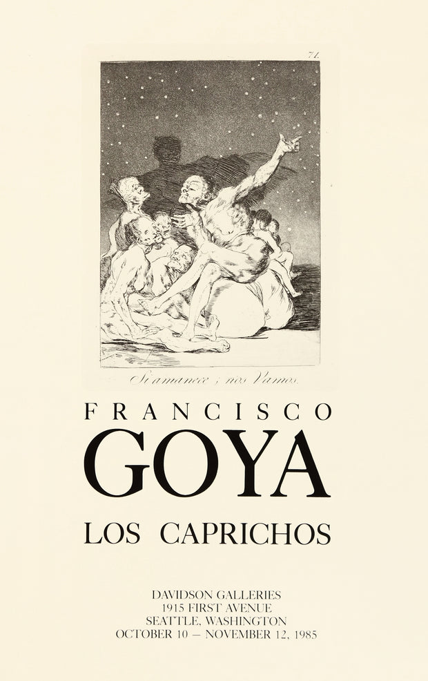 Francisco Goya Los Caprichos (Plate 71) Poster by Francisco Goya - Davidson Galleries