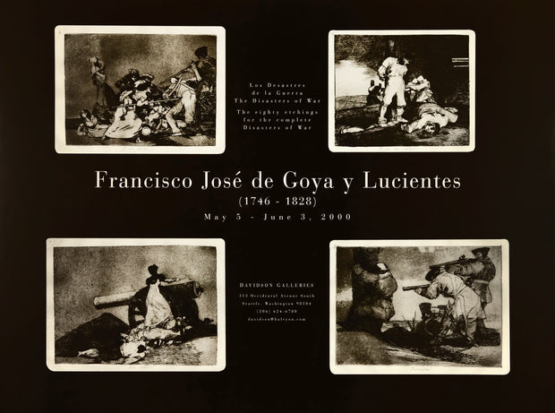 Francisco Goya: Los Desastres de la Guerra Poster by Francisco Goya - Davidson Galleries