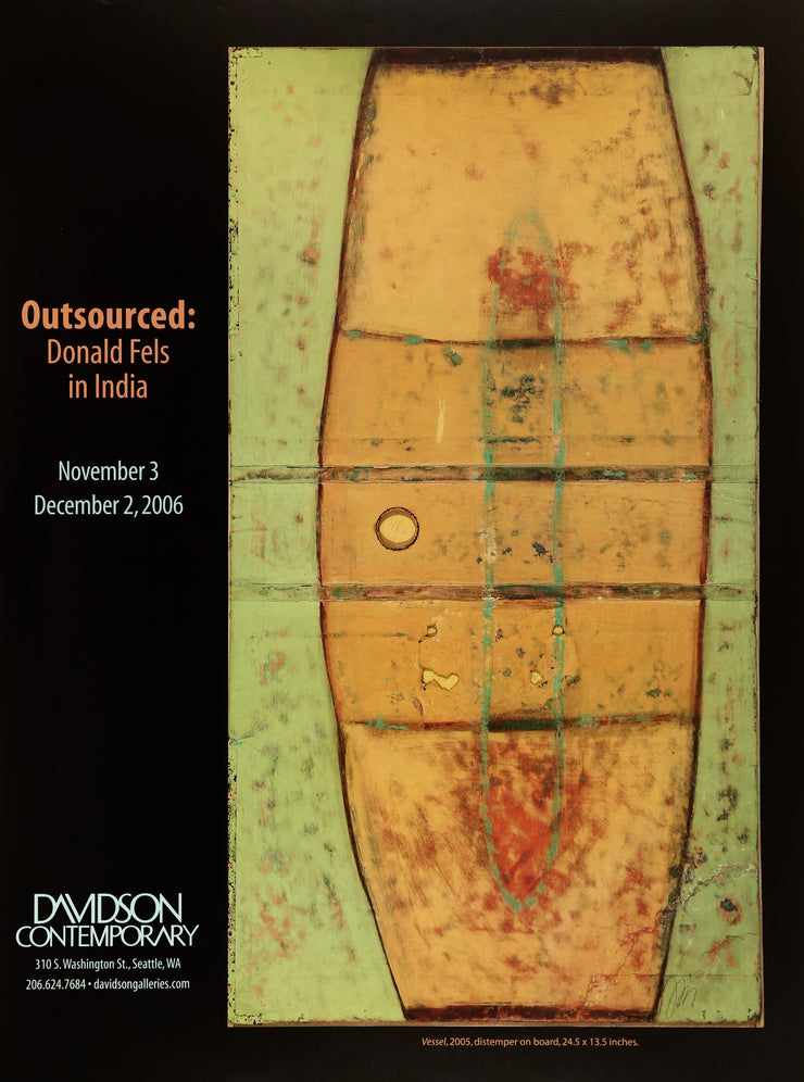 Donald Fels: Outsourced Exhibition Poster by Donald Fels - Davidson Galleries