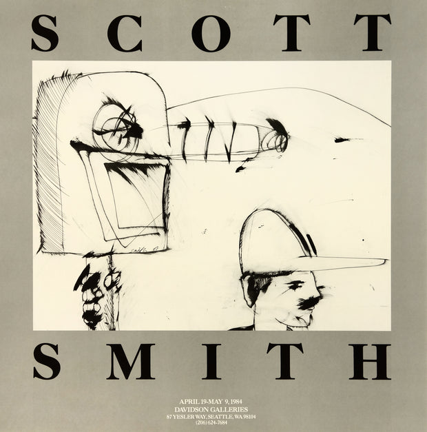 Scott Smith Drawings Poster by Scott Smith - Davidson Galleries