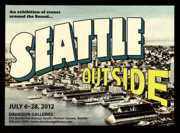 Seattle Outside Exhibition Poster by Artist Unidentified - Davidson Galleries