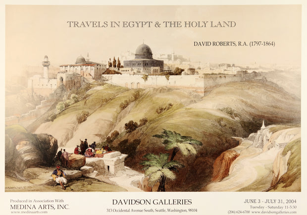 David Roberts: Travels in Egypt and the Holy Land Poster by C.T. Chew - Davidson Galleries