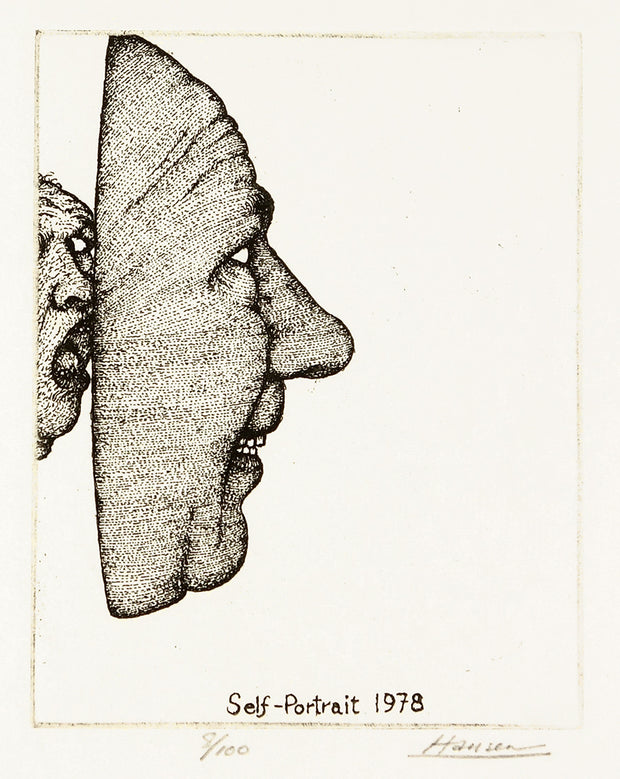 Self-Portrait 1978 by Art Hansen - Davidson Galleries