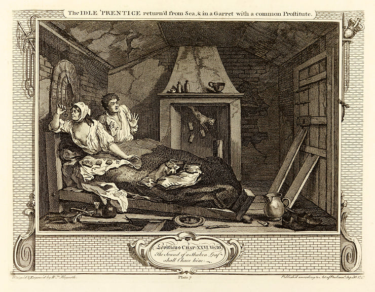 Industry and Idleness (Suite of 12 engravings) by William Hogarth - Davidson Galleries