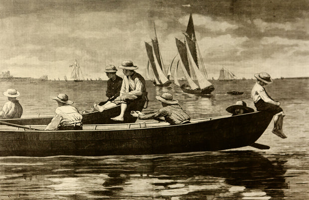 Gloucester Harbor by Winslow Homer - Davidson Galleries