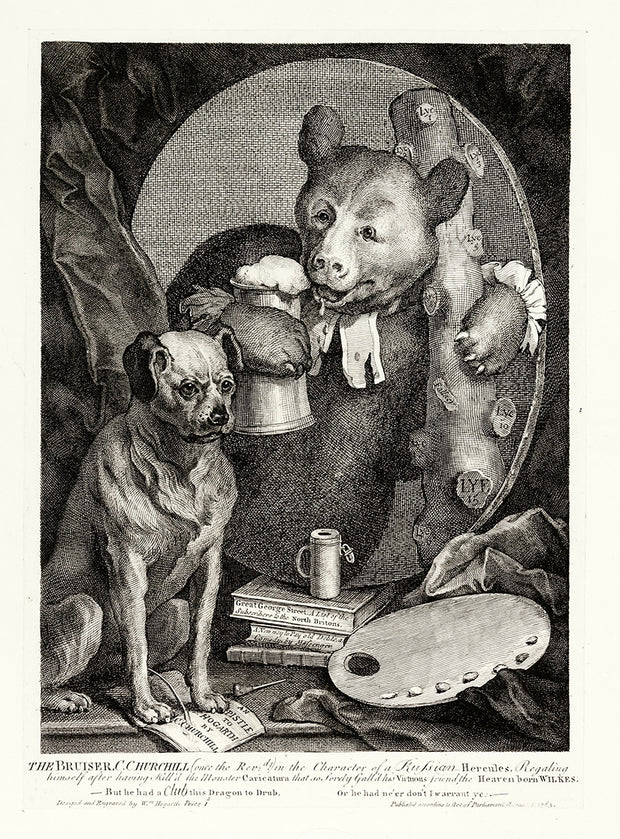 The Bruiser by William Hogarth - Davidson Galleries