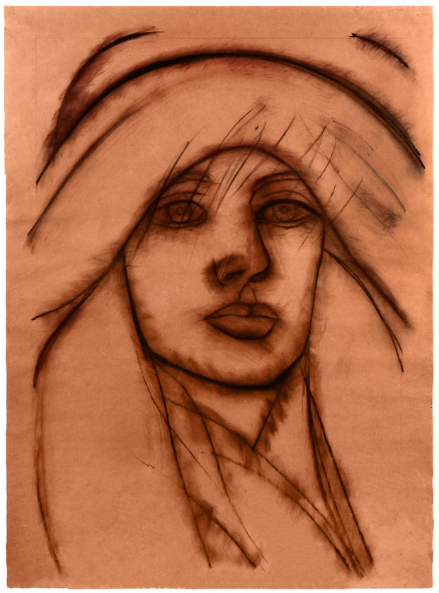 Drawing of a Woman by Alex Katz - Davidson Galleries
