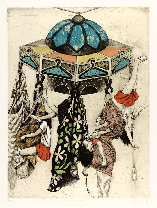 Merry-Go-Round II by Sohee Kim - Davidson Galleries
