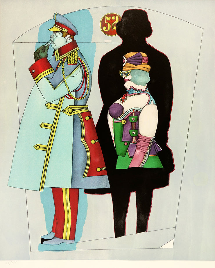 Fifth Avenue by Richard Lindner - Davidson Galleries