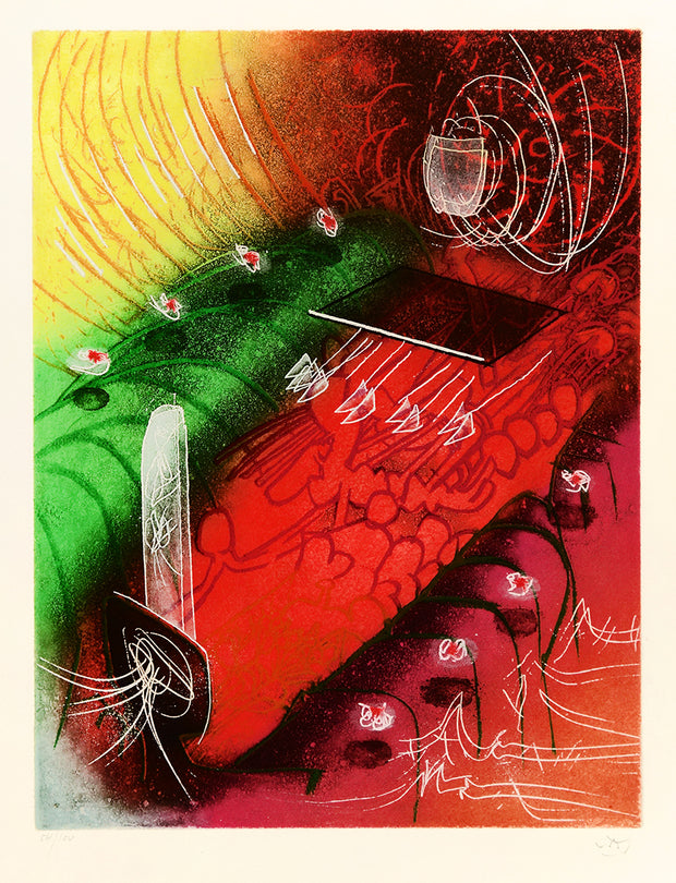 Attire le gai Venin by Roberto Matta - Davidson Galleries