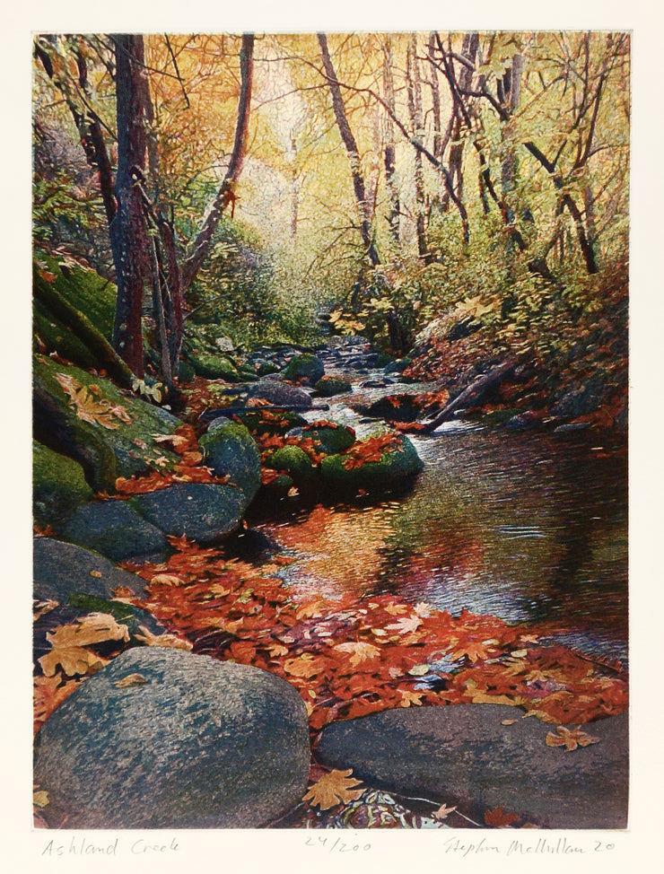 Ashland Creek by Stephen McMillan - Davidson Galleries