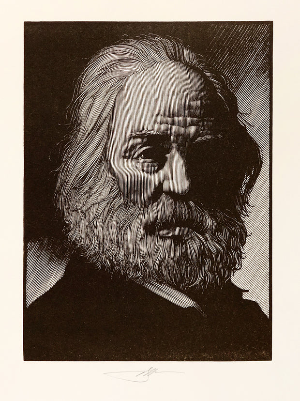 Walt Whitman by Barry Moser - Davidson Galleries
